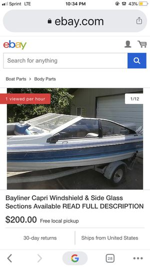 Have a 1998 Bayliner boat for sale nothing wrong with it for Sale in Sacramento, CA