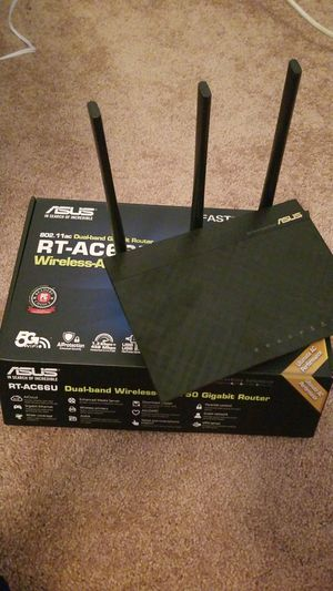 Asus router Rt-ac66u for Sale in Sherrills Ford, NC