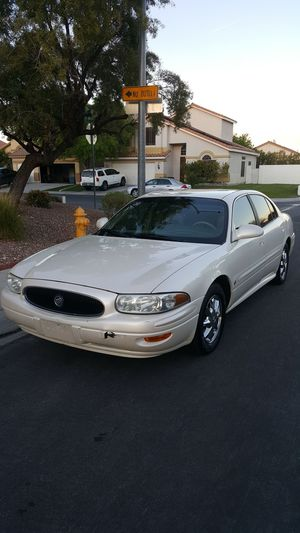 2004 BUICK LESABRE RUNS EXCELLENT COLD AC SMOG READY CLEAN TITLE CLEAN CARFAX for Sale in Las Vegas, NV