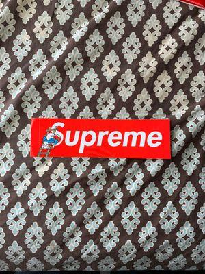 Supreme smurf sticker for Sale in Poinciana, FL