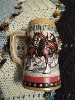1988 Budweiser holiday stein for Sale in Clemmons, NC