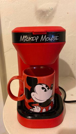 Mickey Mouse Coffee Maker for Sale in Modesto, CA