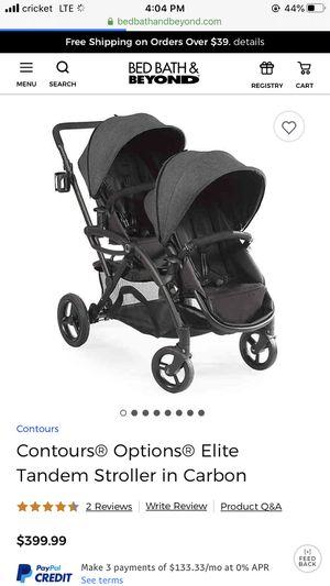 Contours Option Elite double stroller for Sale in Corona, CA