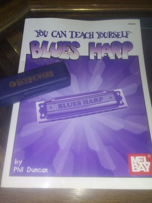 HOHNER HARMONICA AND HOW TO BOOK for Sale in Wichita, KS