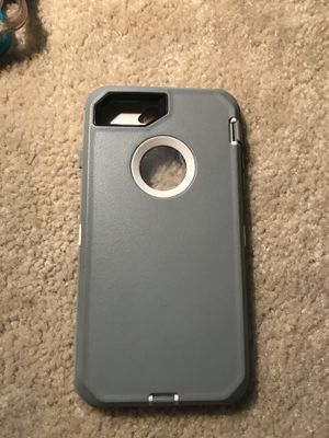 iPhone7 plus Grey otter box for Sale in Baytown, TX