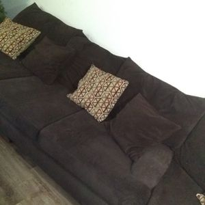 Dark Brown Sectional for Sale in Portland, OR