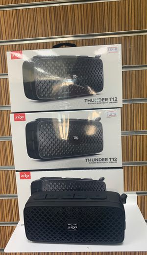 Thunder T12 Bluetooth speaker for Sale in Victoria, TX