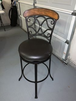 Iron bar stool for Sale in Plano,  TX