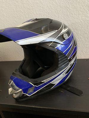 2 dirt bike helmets for Sale in Perris, CA