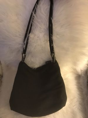 Adrienne Vittadini Black Summer Straw- like ladies hobo bag for Sale in MENTOR ON THE, OH
