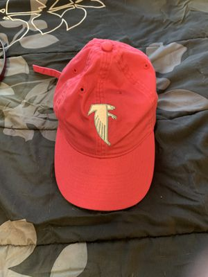 Hot Pink Falcon Adidas Hat with Breast Cancer Ribbon Embroidered on the back for Sale in Charlotte, NC
