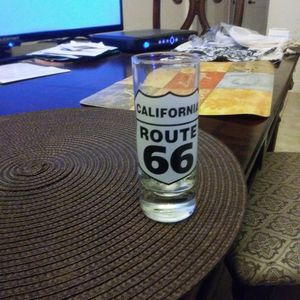 Collectible California Route 66 small Glass. for Sale in Palm Beach, FL