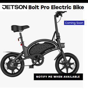 Jetson Bolt Pro, folding bike NEWEST model for Sale in San Diego, CA