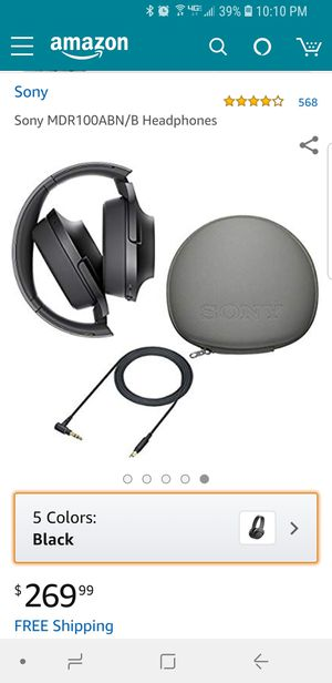 Sony h.ear on headphones for Sale in Tempe, AZ
