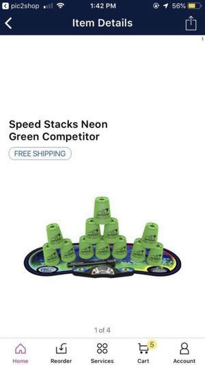 Speed stacks game for Sale in Fountain Inn, SC