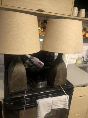 Table lamps for Sale in Washington, DC