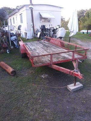 Utility trailer 16 ft tandem for Sale in Lakeland, FL