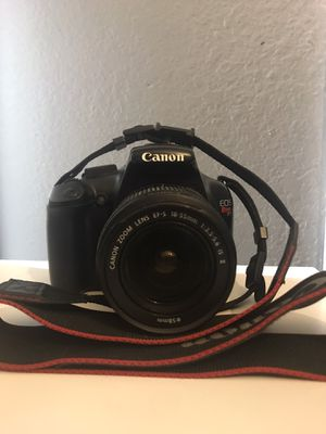 Canon Rebel t3 for Sale in Las Vegas, NV