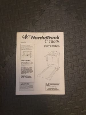 NordicTrack C1800S Treadmill for Sale in North Las Vegas, NV