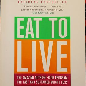 Eat To Live By Joel Fuhrman for Sale in Buckley, WA