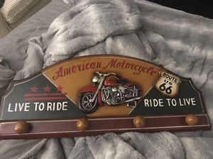 Motorcycle coat rack for Sale in Scottsdale, AZ