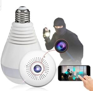 WiFi Light Bulb Camera, 360 VR Panoramic Wireless Bulb Security Camera, for Sale in Richardson, TX