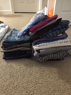 Free men's shirts and pants for Sale in Greenwood, IN