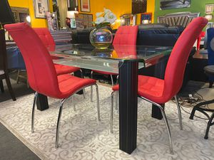 New!! 5pc Dining table set•Apply from your phone 📱• Same day Delivery• Free Financing ✔️ for Sale in Las Vegas, NV