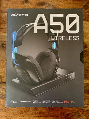 Astro A50 wireless premium Dolby headphones for PS4 and PC for Sale in Los Angeles, CA