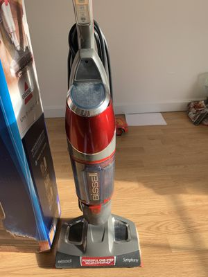Bissel vacuum& steam mop for Sale in Hudson, MA