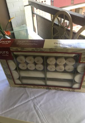 Burning candles for Sale in Falls Church, VA