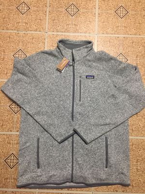 NEW PATAGONIA Sweater Fleece Jacket Stonewash Gray 3XL for Sale in Queens, NY