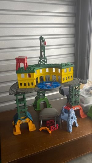 Train - Thomas...steamworks station...$50 for Sale in Raleigh, NC