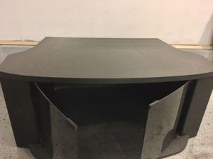 TV Stand with glass door for Sale in South Brunswick Township, NJ