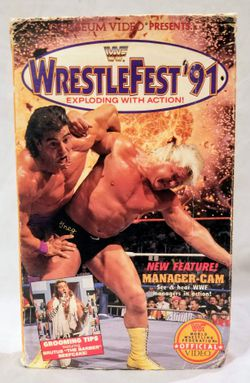 WWF WrestleFest '91 VHS Video WWE for Sale in Eagle Pass,  TX