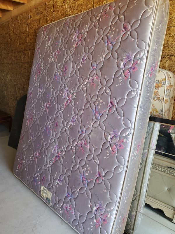 California King mattress & matching box springs