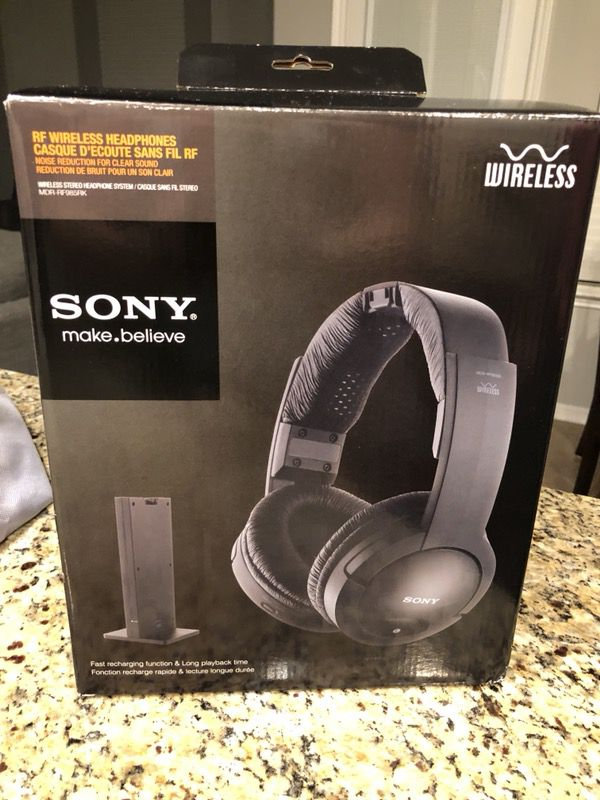 Sony RF wireless headphones