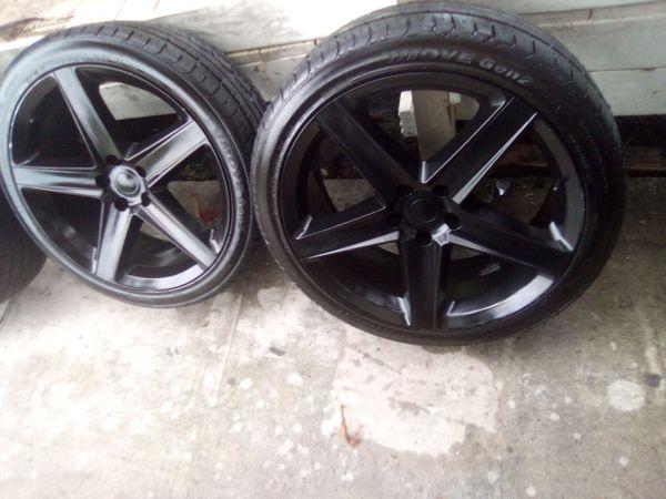 22 inch wheels 5 lug