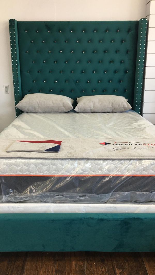 Beautiful Bed And Mattress Only 649$$$