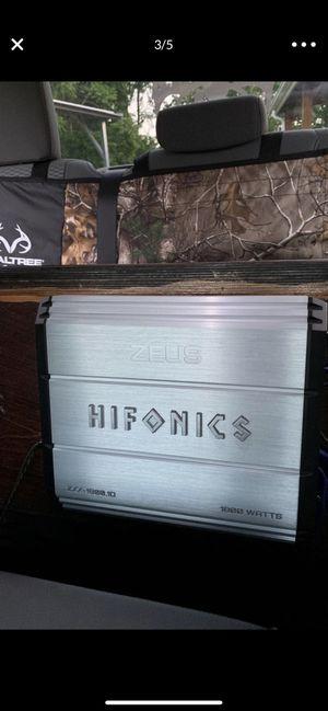 Hifonics Zeus amp 1800 watts for Sale in Wirtz, VA