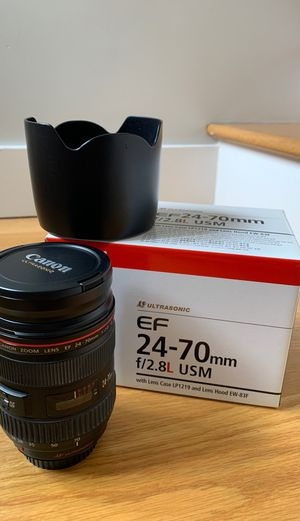 Canon 24-70mm f/2.8L USM for Sale in Seattle, WA