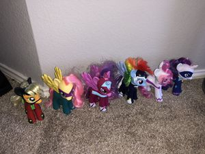 My little pony collection, includes RARE set! for Sale in The Colony, TX