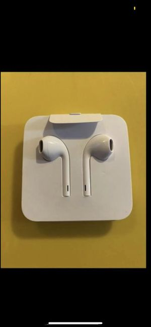 Brand New Original Apple iPhone Earphones Lightning connector Adapter for Sale in Santa Ana, CA