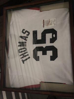 Signed Frank Thomas jersey for Sale in Virginia Beach, VA