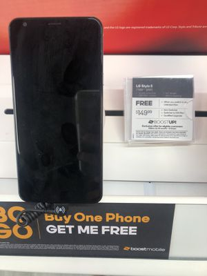 Free LG Stylo 5 when you switch to boost for Sale in Kinston, NC