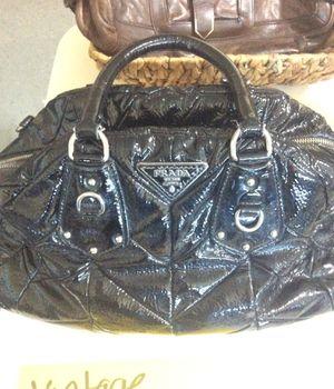 Vintage Prada patent leather bowling bag for Sale in Las Vegas, NV