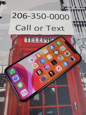 Unlocked iphone x 256gb for Sale in Shoreline, WA