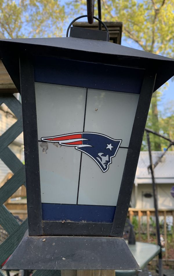 Vintage New England Patriots Lantern IF POSTED ITS AVAILABLE