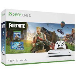 Xbox One S 1TB Fortnite Bundle (used) for Sale in Tamarac, FL