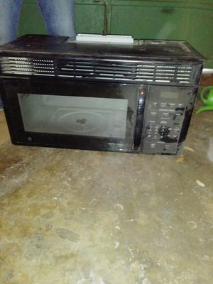 Big microwave to mount above stove for Sale in San Angelo, TX